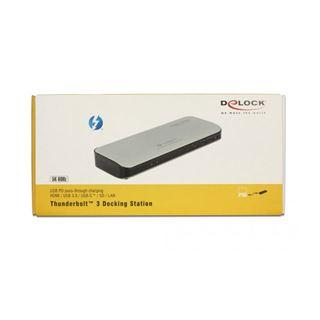 Delock Thunderbolt 3 Dockingstation 5K - HDMI/USB 3.0/USB-C/SD/LAN