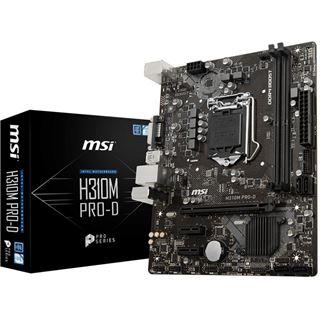 MSI H310M PRO-D mATX