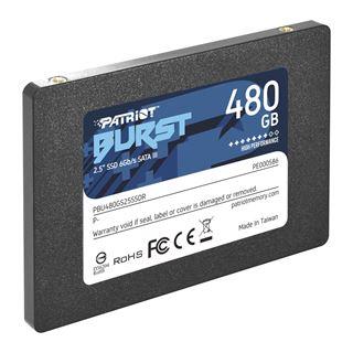 "480GB Patriot Burst 2.5"" (6.4cm) SATA 6Gb/s 3D-NAND TLC"