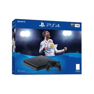 Sony Playstation 4 PS4 slim 1TB Ronaldo Edition+FiFa 18