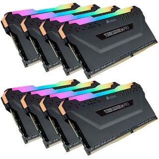64GB Corsair DDR4 PC 3466 CL16 CORSAIR KIT (8x8GB) Vengeance RGB Bla