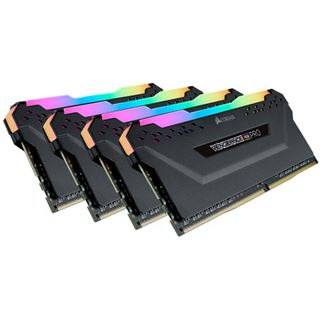 32GB Corsair Vengeance RGB PRO schwarz DDR4-2933 DIMM CL16 Quad Kit