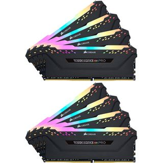 64GB Corsair DDR4 PC 2933 CL16 CORSAIR KIT (8x8GB) Vengeance RGB B