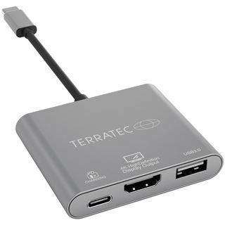 TERRATEC USB Type-C Adapter mit USB-C PD HDMI USB 3.0 Port