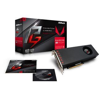 8GB ASRock Radeon RX Vega 56 Phantom Aktiv PCIe 3.0 x16 (Retail)