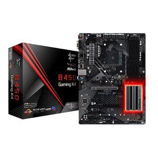 ASRock Fatal1ty B450 Gaming K4 AMD B450 So.AM4 Dual Channel DDR4 ATX