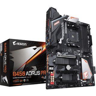 Gigabyte B450 Aorus Pro AMD B450 So.AM4 Dual Channel DDR4 ATX Retail