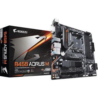 Gigabyte B450 Aorus M AMD B450 So.AM4 Dual Channel DDR4 mATX Retail