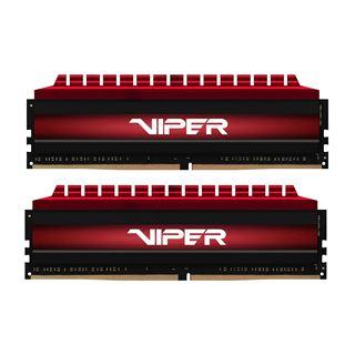 16GB Patriot Viper 4 rot DDR4-3400 DIMM CL16 Dual Kit