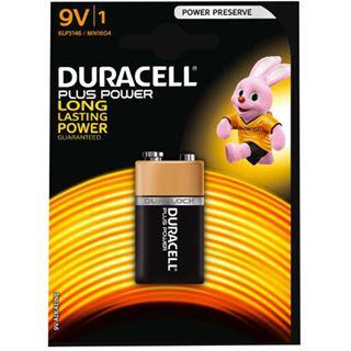 Duracell Batterien 9V Block ** Industrial
