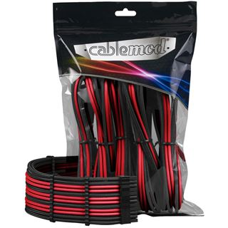 CableMod PRO ModMesh Cable Extension Kit - schwarz/rot