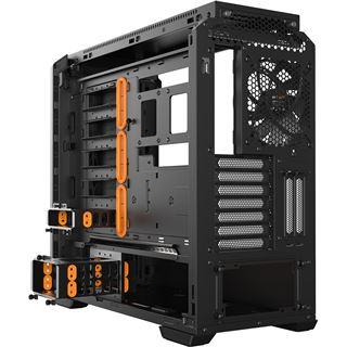 be quiet! Silent Base 601 Midi Tower ohne Netzteil schwarz/orange
