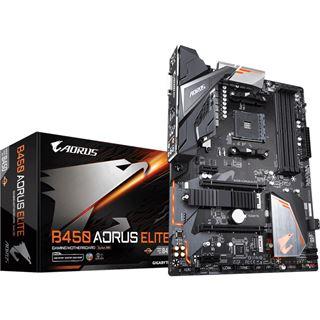 Gigabyte B450 Aorus Elite AMD B450 So.AM4 Dual Channel DDR4 ATX Retail