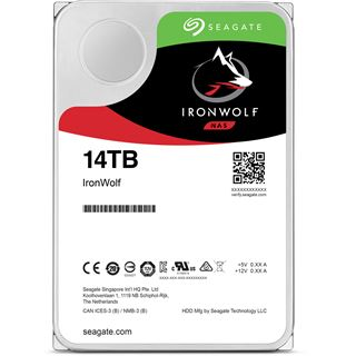 """14000GB Seagate IronWolf NAS ST14000VN0008 256MB 3.5"""" (8.9cm)"""