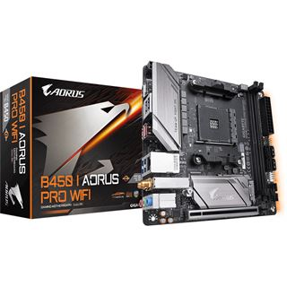 Gigabyte Aorus Pro AMD B450 So.AM4 Dual Channel DDR4 Mini-ITX Retail