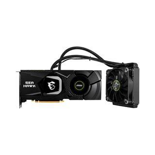 8GB MSI GeForce RTX 2080 SEA HAWK X Hybrid PCIe 3.0 x16 (Retail)