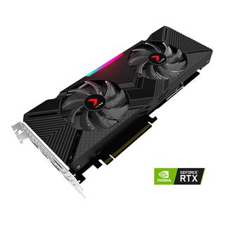 8GB PNY GeForce RTX 2080 XLR8 Gaming OC Twin Fan Aktiv PCIe 3.0 x16