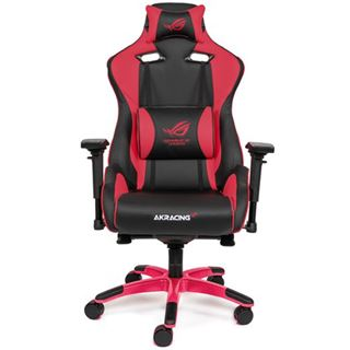 AKRacing Gaming Stuhl Master Pro Asus ROG Edition rot