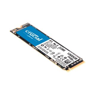 1000GB Crucial P1 NVMe M.2 2280 PCIe 3.0 x4 32Gb/s 3D-NAND QLC