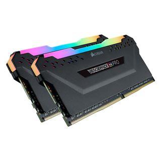 32GB Corsair Vengeance RGB PRO schwarz CMW32GX4M2C3200C16 DDR4-3200