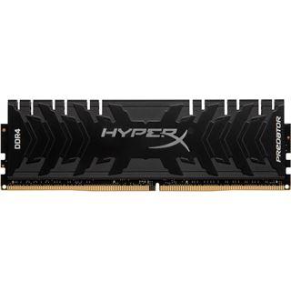 16GB HyperX Predator schwarz DDR4-3600 DIMM CL17 Single
