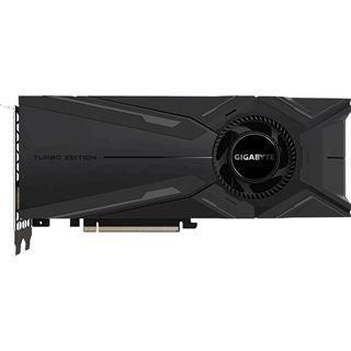 8GB Gigabyte GeForce RTX 2080 Turbo OC Aktiv PCIe 3.0 x16 (Retail)