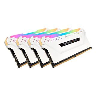 64GB Corsair Vengeance RGB PRO weiß DDR4-3000 DIMM CL15 Quad Kit
