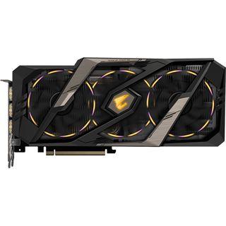8GB Gigabyte GeForce RTX 2080 AORUS 8G Aktiv PCIe 3.0 x16 (Retail)
