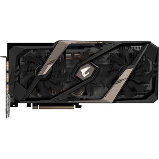 8GB Gigabyte GeForce RTX 2070 AORUS Xtreme 8G Aktiv PCIe 3.0 x16