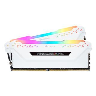 32GB Corsair Vengeance RGB PRO weiß DDR4-3200 DIMM CL16 Dual Kit