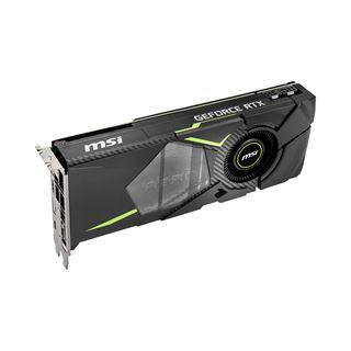 8GB MSI GeForce RTX 2070 AERO 8G Aktiv PCIe 3.0 x16 (Retail)