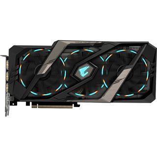11GB Gigabyte GeForce RTX 2080 Ti AORUS Xtreme 11G Aktiv PCIe 3.0 x16