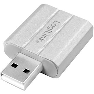 LogiLink USB 2.0 Audioadapter, silber
