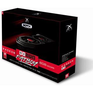 8GB XFX Radeon RX 590 Fatboy Aktiv PCIe 3.0 x16 (Retail)