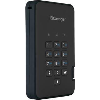 """4000GB ISG diskAshur2 SSD IS-DA2-256-SSD-4000-B 2.5"""" (6.4cm) USB"""