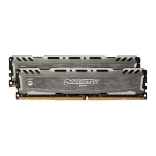 16GB Crucial Ballistix Sport LT Single Rank grau DDR4-3000 DIMM CL16