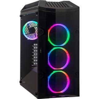 LC-Power Gaming 998B Rambot mit Sichtfenster Midi Tower ohne Netzteil
