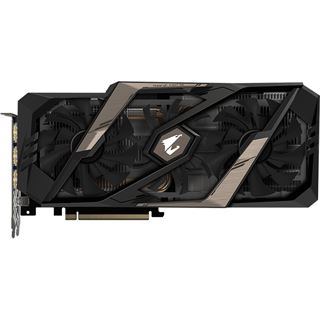 11GB Gigabyte GeForce RTX 2080 Ti AORUS 11G Aktiv PCIe 3.0 x16