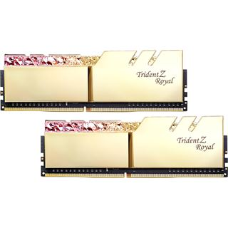 16GB G.Skill Trident Z Royal gold DDR4-3600 DIMM CL18 Dual Kit
