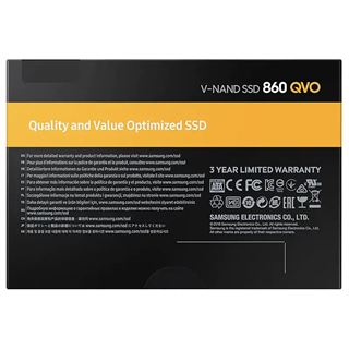 "1000GB Samsung 860 QVO 2.5"" (6.4cm) SATA 6Gb/s 3D-NAND QLC"