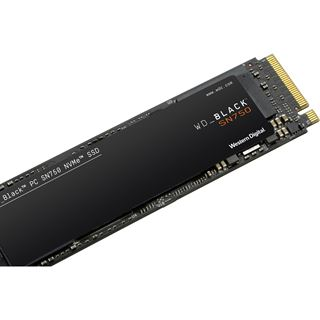 1000GB WD Black SN750 Gaming M.2 2280 PCIe 3.0 x4 NVMe 3D-NAND TLC