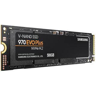 500GB Samsung 970 Evo Plus M.2 2280 PCIe 3.0 x4 NVMe 1.3 3D-NAND TLC