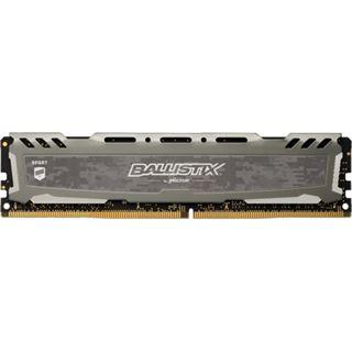 8GB Crucial Ballistix Sport LT Single Rank grau DDR4-3200 DIMM CL16