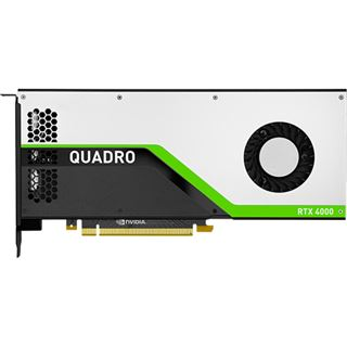 8GB PNY Quadro RTX 4000 Aktiv PCIe 3.0 x16 (Full Retail)