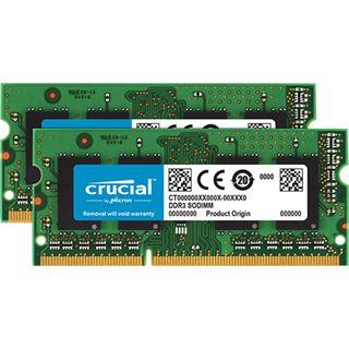 16GB Crucial CT2K8G3S160BM DDR3L-1600 SO-DIMM CL11 Dual Kit
