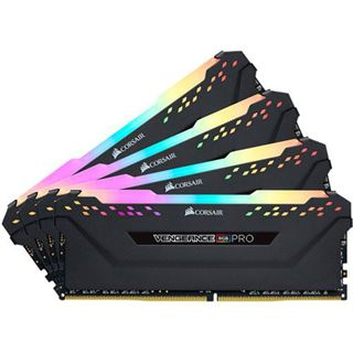 32GB Corsair Vengeance RGB PRO schwarz DDR4-4000 DIMM CL19 Quad Kit