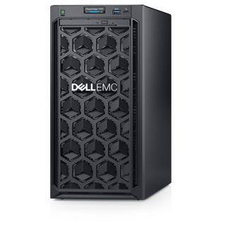 Dell PowerEdge T140 Xeon E-2126G/8GB/1x1TB/DVD RW/On-Board LOM