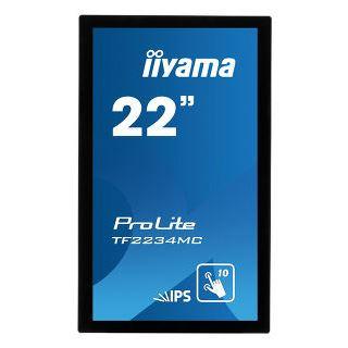 """21,5"""" (54,61cm) iiyama ProLite TF2234MC-B6AGB schwarz 1920x1080"""