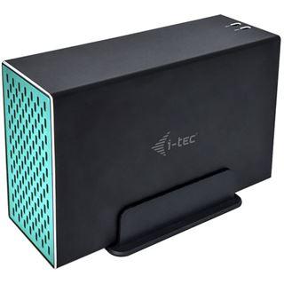 I-TEC USB 3.0/USB-C MySafe Festplattengehaeuse fuer 2x 8,9cm 3,5Zoll