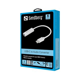 Sandberg USB-C Audio Adapter